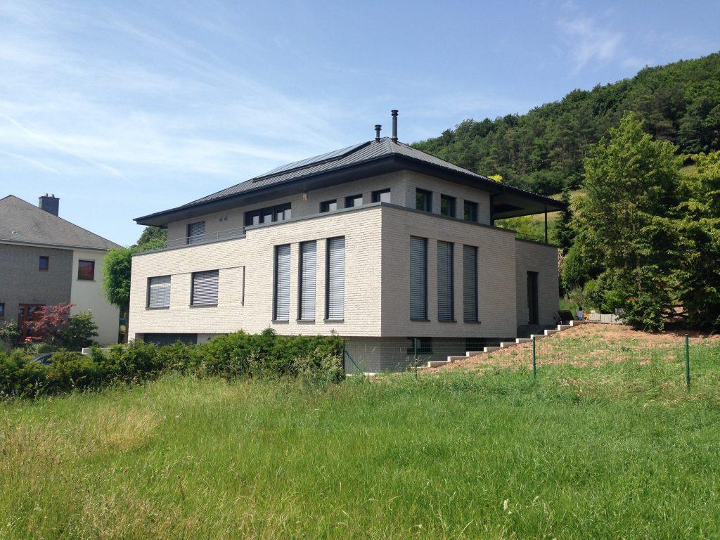 Neubau Einfamilienhaus Luxemburg